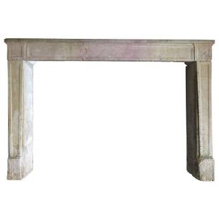 French Louis XVI Style antique fireplace 19thC