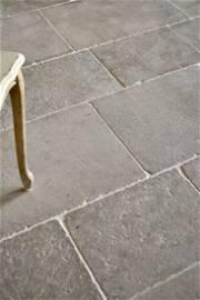1600sqf French limestone antique finishing floors Paris