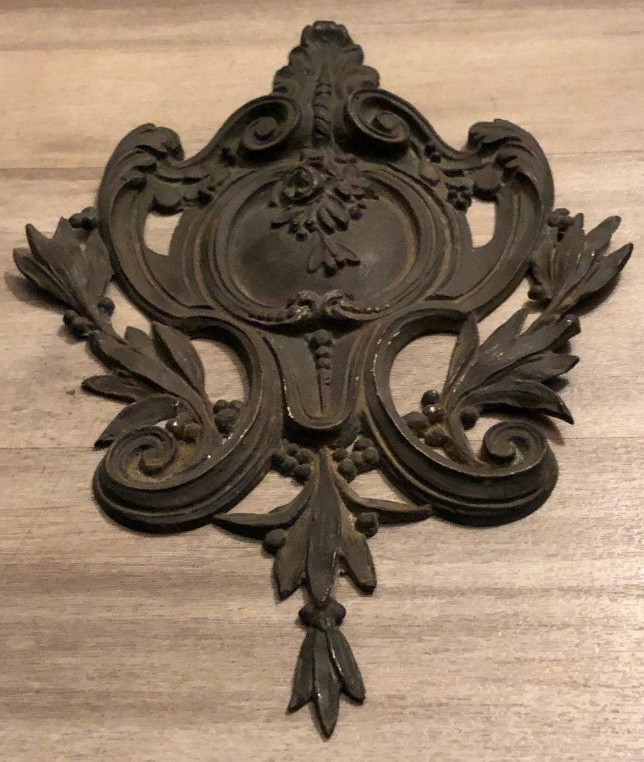 French antique Louis XV wall deco 1800s