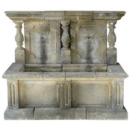 Italian Renaissance Style Wall Fountain limestone