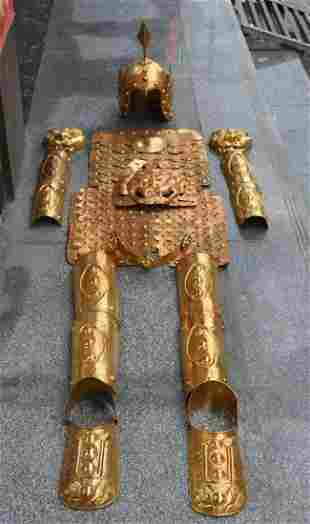 Old Tibetan Armor Set of Qing Dynasty Generals