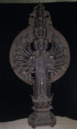 High imitation copper Thousand-Hand Guanyin,the highest