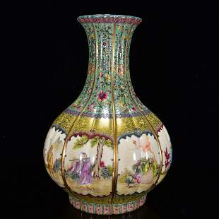 Qing Dynasty Qianlong reign of Qing Dynasty enamel