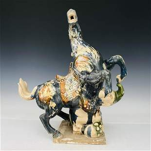 Three color horses of Tang Dynasty, height 61 cm,