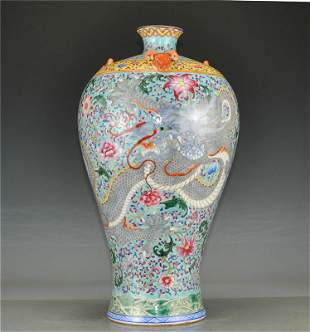 Porcelain in the Qing Dynasty Qianlong official kiln