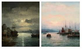 William Thornley - oil.