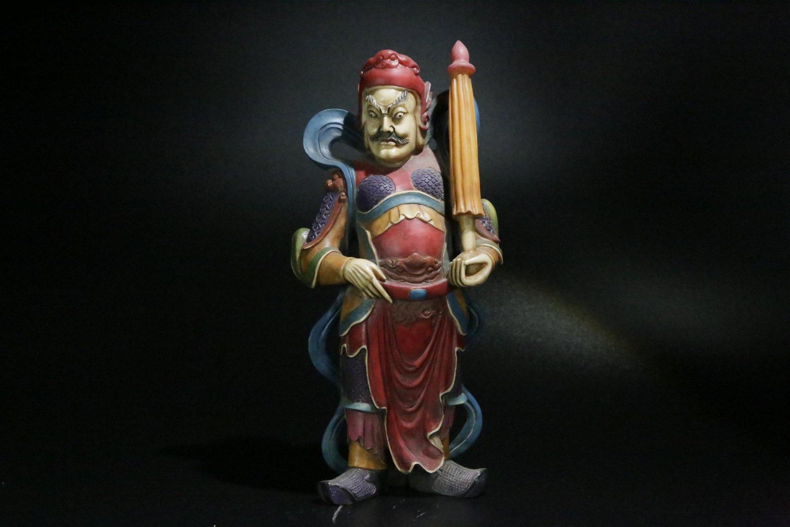 A shoushan stone tianwang