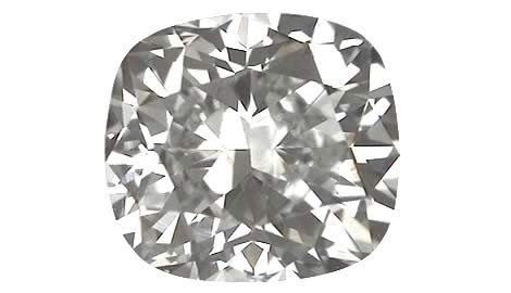1003: 4.01 CT E SI2 CUSHION NATURAL CERTIFIED DIAMOND