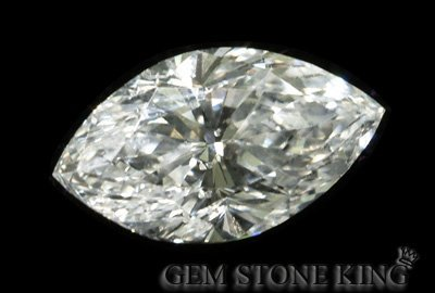 1019: 0.51 CT H SI3 MARQUISE NATURAL CERTIFIED DIAMOND