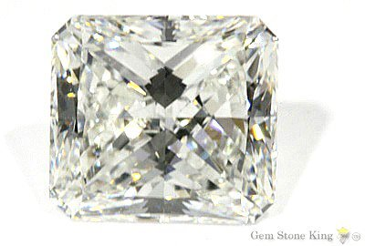 1125: 12.31 CT M VS2 RADIANT NATURAL CERTIFIED DIAMOND