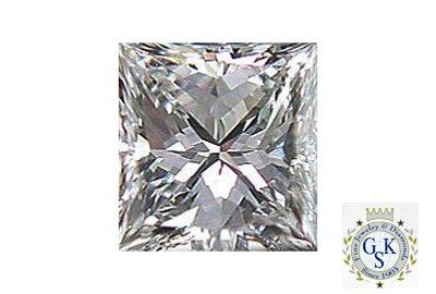 1043: 1.05 CT G VS2 PRINCESS  NATURAL CERTIFIED DIAMOND