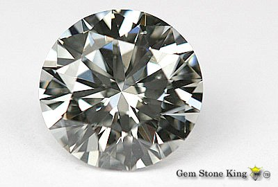 1061: 1.32 CT H SI2 ROUND  NATURAL CERTIFIED DIAMOND