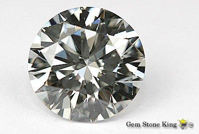 1088: 2.23 CT G SI3 ROUND  NATURAL CERTIFIED DIAMOND