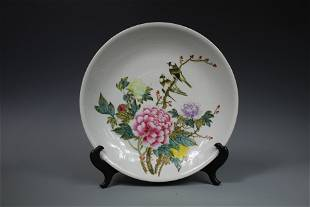 A Large Famille-Rose Charger, Republic of China