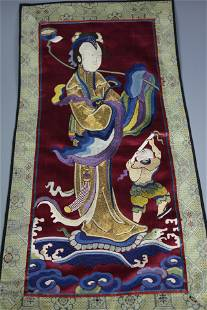 A Fine Chinese Embroidery