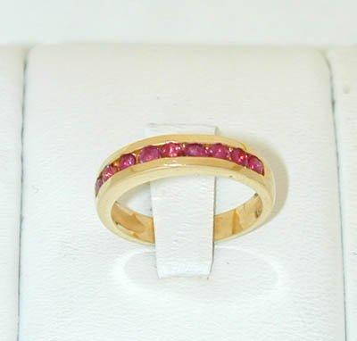12015: 6045 14K Gold Ring w/ Ruby