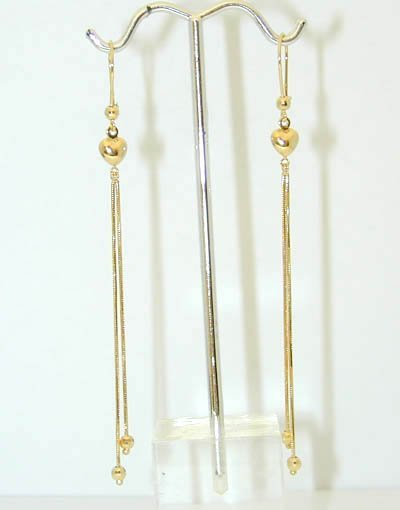 1032: 1032 14K Gold Earrings