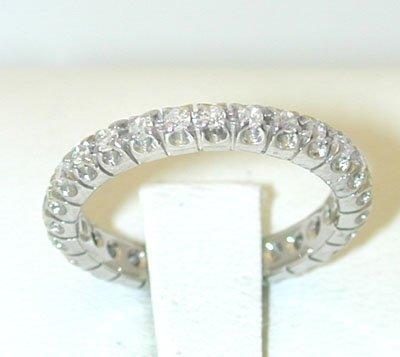 12175A: 495 18KW Ring w/ Diamonds