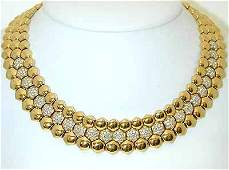 3400 PIAGET 18K Gold Necklace w/ Diamonds