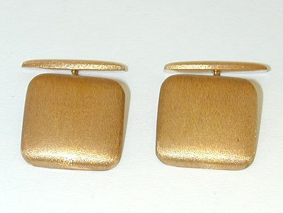 1 18K Gold Cufflinks