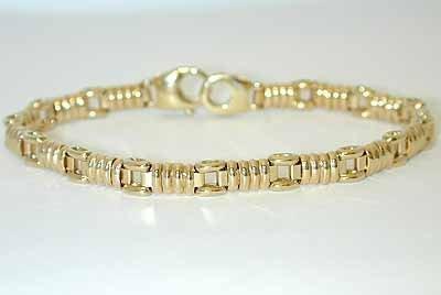 1024 14K Gold Bracelet