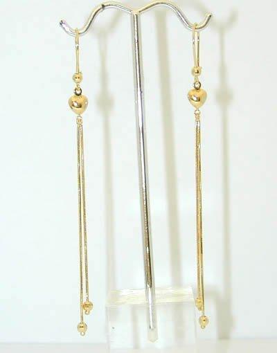 1032 14K Gold Earrings