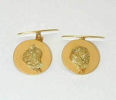 11996 18K Gold Cufflinks