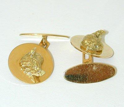 11996 18K Gold Cufflinks - 2