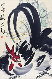A CHINESE PAINTING SIGNED CHEN DAYU