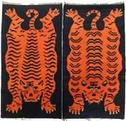 A pair of Oriental Antique Carpet