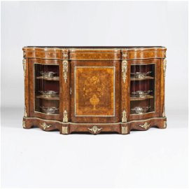 Floral Marquetry and Bronze  commode, Circa 1860