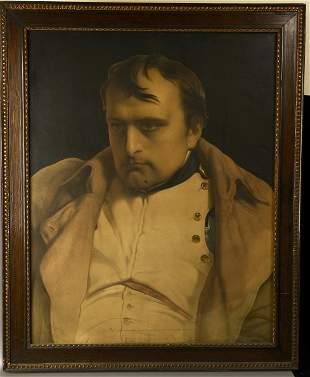 A COPPER PLATE ETCHING OF Napoleon. The 19th Century