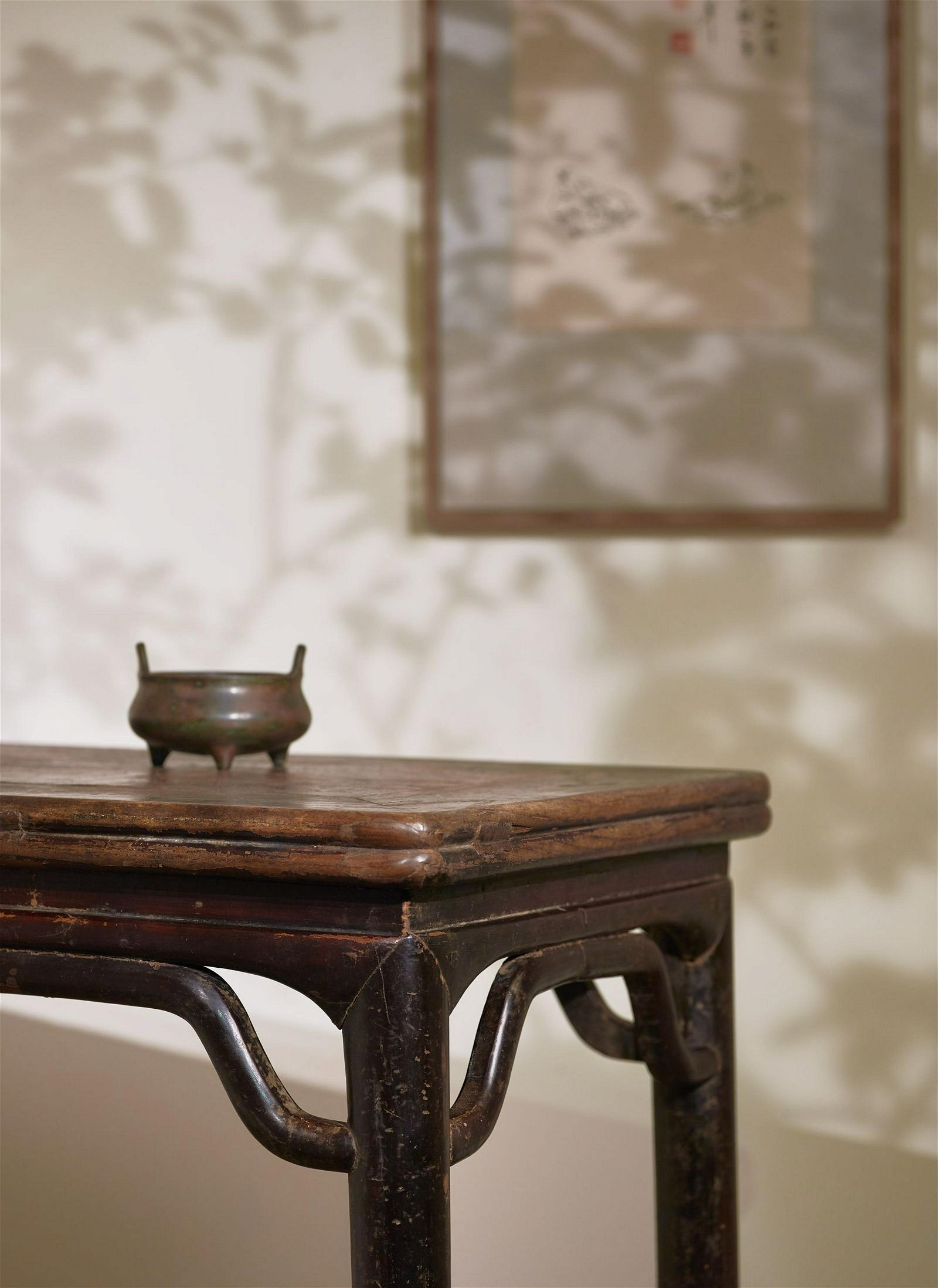 A DECORATED SIDE TABLE(BANZHUO)