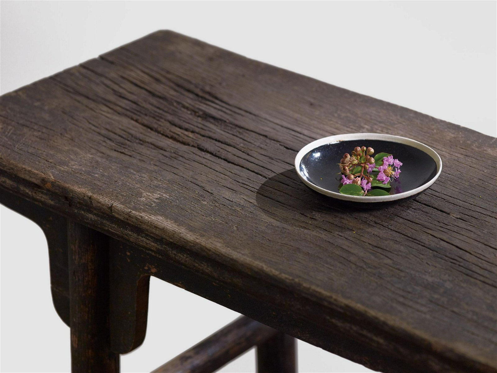 A JU WOOD AND CYPRESS WOOD INCENSE TABLE