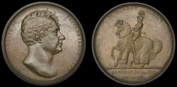 A Collection of Historical Medals, the Property of a