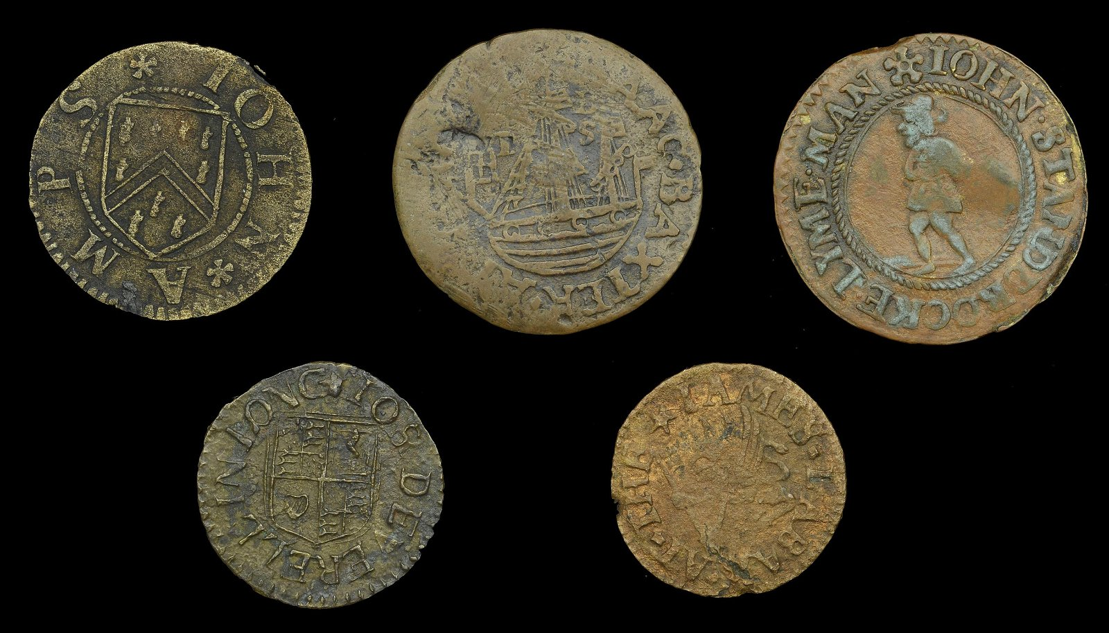 The Collection of London 17th Century Tokens formed by