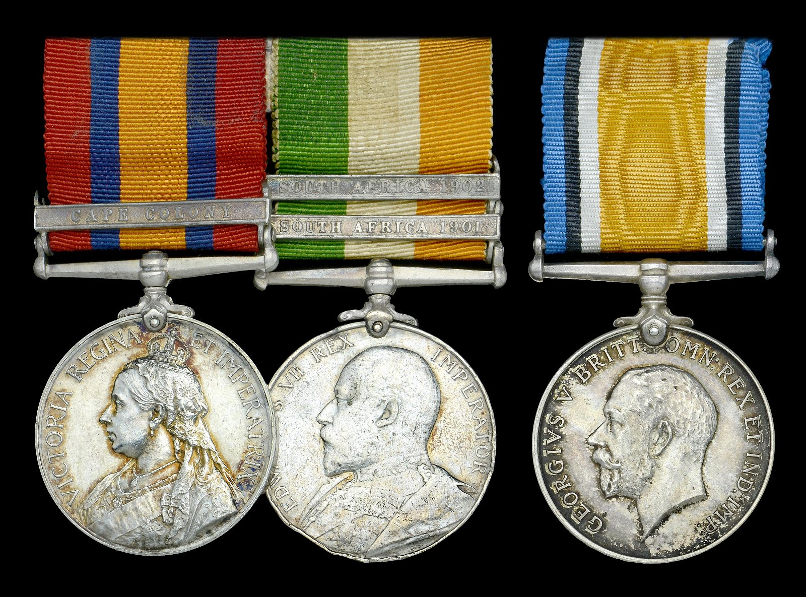 Medals to the 57th, 77th, and Middlesex Regiments (Duke