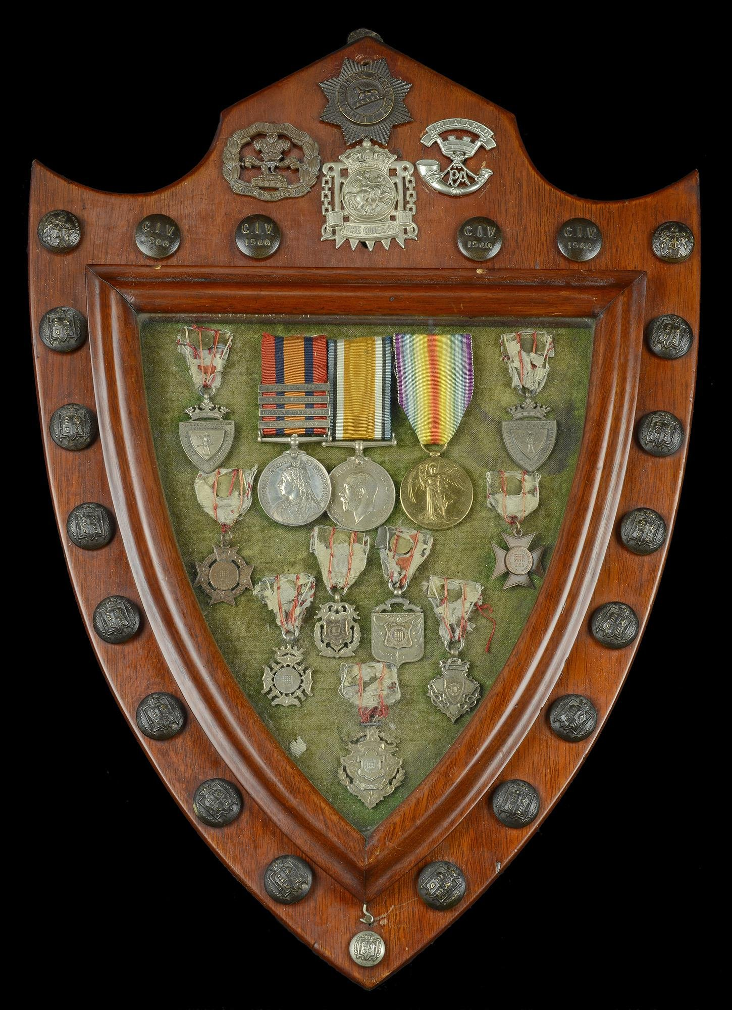Medals to the City of London Imperial Volunteers