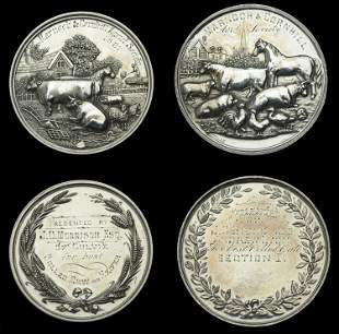 A Small Collection of Agricultural Medals