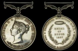 Indian Historical Medals from the Collection formed by