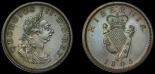 Irish Coins from Various Properties