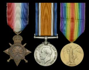 A Collection of Medals to Great War Casualties, Part 2