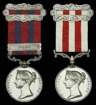 A Collection of Indian Mutiny Medals, the Property of a