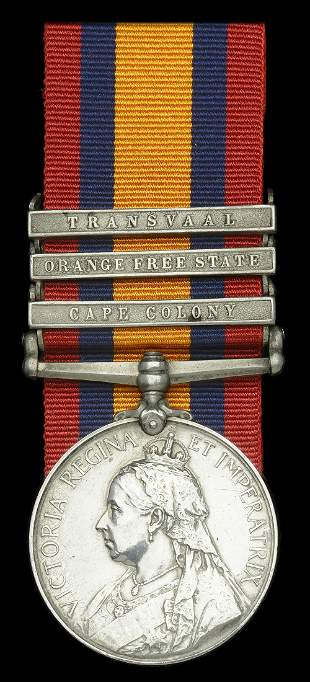 A Collection of Medals to the Royal Welsh Fusiliers