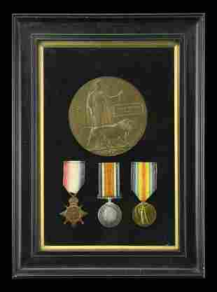 The Barry Hobbs Collection of Great War Medals