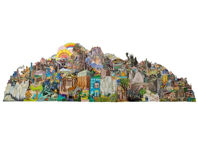 Dreamtropolis Collage by Morgan Jesse Lappin
