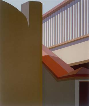 Ramp With a Red Roof by Saul Chase , 1981