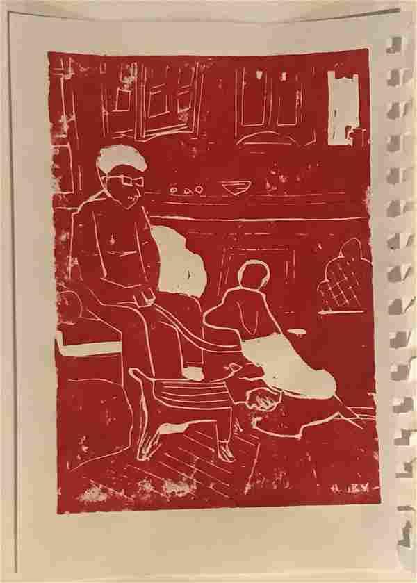 Red Print by Zak Vreeland