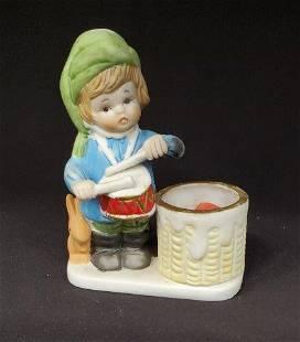Porcelain Drummer Boy Figurine 1 of 2