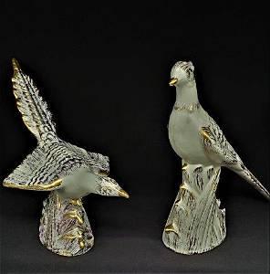 Vintage Decorative ceramic Hagger birds